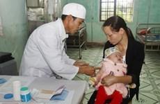 Hà Nội tiêm chủng vắcxin phòng sởi và rubella quy mô lớn