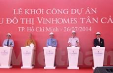 Vingroup đầu tư 30.000 tỷ đồng xây khu đô thị Vinhomes Tân Cảng