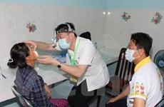 Đoàn bác sỹ Đài Loan khám bệnh cho người nghèo Đồng Nai