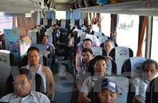 Nhóm lao động Việt Nam đầu tiên rời Libya tới Ai Cập an toàn