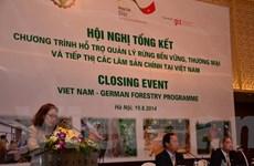 Chính phủ Đức sẽ tiếp tục hỗ trợ cho ngành lâm nghiệp Việt Nam