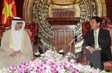 Chủ nhiệm Ủy ban Đối ngoại QH tiếp đoàn nghị sỹ Kuwait-Việt Nam