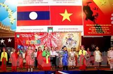 Thiếu nhi Việt Nam tại Lào cùng vui đón Tết Trung thu