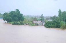 Hoàn lưu bão số 3 và triều cường gây thiệt hại ở Hậu Giang