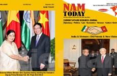 Tạp chí Ấn Độ ra chuyên đề đặc biệt về quan hệ Ấn-Việt