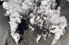 Nhật Bản huy động xe thiết giáp và binh sỹ giải cứu nạn nhân núi lửa