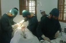 Bệnh viện Bạch Long Vỹ cấp cứu thành công bệnh nhân đa vết thương