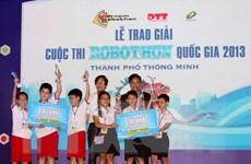 Có 62 đội tham gia cuộc thi Robothon toàn quốc năm 2014