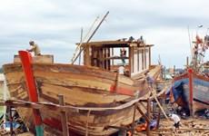 40 ngư dân đầu tiên của Quảng Ngãi được vay vốn đóng tàu cá