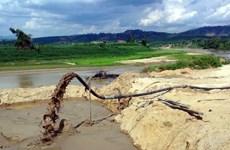 Khởi tố 6 bị can trong vụ khai thác cát ở huyện Phúc Thọ