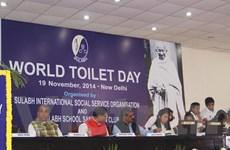 """Khai mạc """"Lễ hội nhà vệ sinh quốc tế"""" tại thủ đô New Delhi"""
