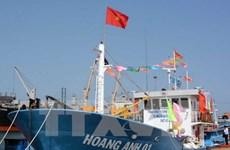 Quảng Ngãi: Ký hợp đồng đầu tiên về đóng tàu hậu cần nghề cá