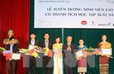 Gần 9.300 lưu học sinh Lào đang học tập, nghiên cứu ở Việt Nam
