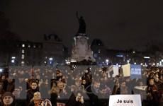 Hàng chục nghìn người tuần hành ở Pháp sau vụ tấn công đẫm máu