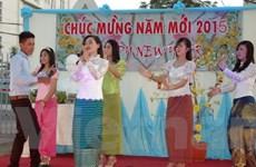 Lưu học sinh Việt tại Campuchia biểu diễn văn nghệ chào Xuân