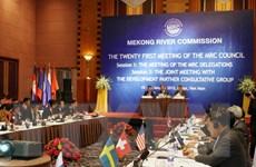 Khai mạc Phiên họp thứ 21 Hội đồng Ủy hội sông Mekong quốc tế