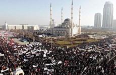 Hơn 1 triệu người ở Nga biểu tình phản đối tạp chí Charlie Hebdo