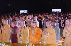 Đại lễ cầu hòa bình thế giới và quốc thái dân an tại Ninh Bình