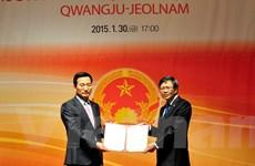 Bổ nhiệm Tổng lãnh sự danh dự Việt Nam tại Gwangju-Chonnam