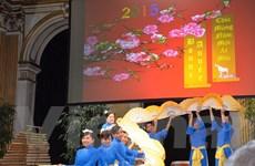 Kiều bào Pháp và sinh viên Việt tại Nga tưng bừng đón năm mới