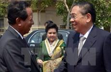 Campuchia và Lào cam kết tăng cường hợp tác về quốc phòng