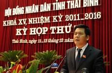 Thái Bình bầu Chủ tịch Hội đồng Nhân dân và Ủy ban Nhân dân tỉnh