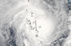 Siêu bão nhiệt đới Pam hoành hành ở Vanuatu làm nhiều người chết