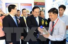Khai mạc Hội chợ thương mại quốc tế Việt Nam 2015 tại Hà Nội