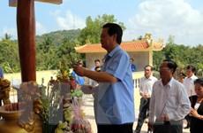 Thủ tướng dự khánh thành Bia lưu niệm Quân dân y ở Kiên Giang