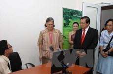 Công chúa Thái Lan giúp đỡ một trường tiểu học ở Ninh Bình