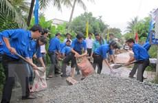Ra quân Chiến dịch thanh niên tình nguyện Hè 2015 ở Thái Nguyên