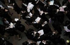 Tỷ lệ thất nghiệp ở Nhật giảm xuống mức thấp nhất 18 năm qua