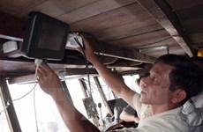 Bà Rịa-Vũng Tàu lắp thiết bị kết nối vệ tinh Movimar cho tàu cá