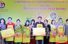 Chương trình nhà báo với nghệ thuật ẩm thực tại TP Hồ Chí Minh