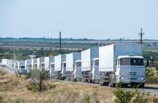 Nga gửi đoàn xe chở hàng viện trợ thứ 30 đến miền Đông Ukraine