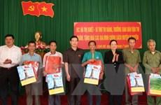 Chủ tịch nước tặng quà nhân kỷ niệm Ngày Thương binh-Liệt sỹ