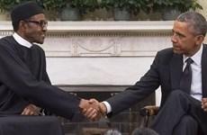 Hai Tổng thống Mỹ và Nigeria bàn về chống khủng bố, dịch Ebola