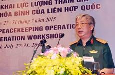 Việt Nam góp phần làm tốt hơn các hoạt động gìn giữ hòa bình