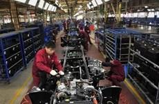 Chỉ số PMI trong lĩnh vực chế tạo của Trung Quốc tiếp tục giảm