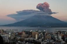 Núi lửa Sakurajima ở Nhật Bản đã bắt đầu đợt phun trào nhỏ