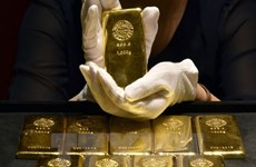 Giá vàng giảm trước những số liệu khả quan của kinh tế Mỹ