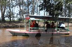 Khai thác tuyến du lịch xanh tại Vườn quốc gia Tràm Chim