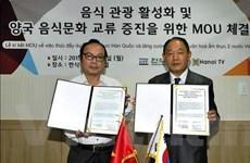 Truyền hình Hà Nội phát sóng quảng bá ẩm thực Hàn Quốc
