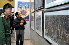 Khai mạc triển lãm mỹ thuật khu vực Tây Bắc-Việt Bắc tại Sơn La