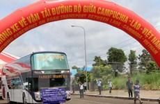 Thông xe tuyến liên vận quốc tế giữa Campuchia-Lào-Việt Nam