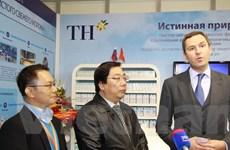 TH True Milk lần đầu dự Triển lãm Thực phẩm Quốc tế Moskva