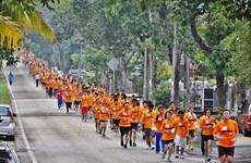 Hơn 10.000 người tham gia chạy vì hòa bình tại Malaysia