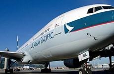 Máy bay Cathay Pacific hạ cánh khẩn cấp do động cơ bốc cháy