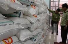Long An tạm giữ 28 tấn đường cát nhập lậu qua cửa khẩu Tho Mo