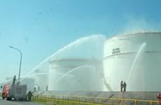 Diễn tập ứng cứu chữa cháy, cứu hộ tại Nhà máy lọc dầu Dung Quất
